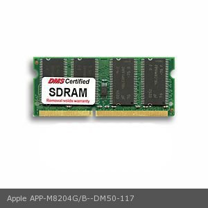 """DMS Compatible/Replacement for Apple M8204G/B  iMac G4 700 15"""" (Flat Panel) (M8672LL/B) 128MB DMS Certified Memory 144 Pin PC133 16x64 CL3 SDRAM SODIMM - DMS"""