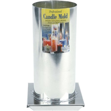 Professional Candle Mold Metal Cylinder, 3