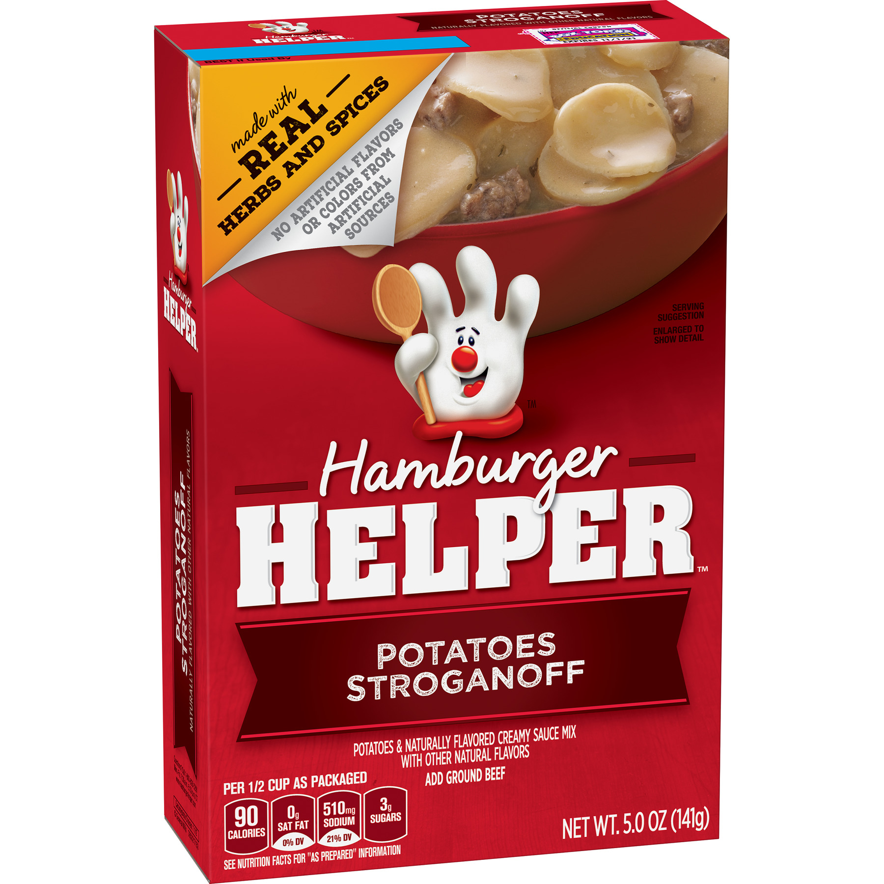 Hamburger Helper Potatoes Stroganoff Hamburger Helper 5 Oz