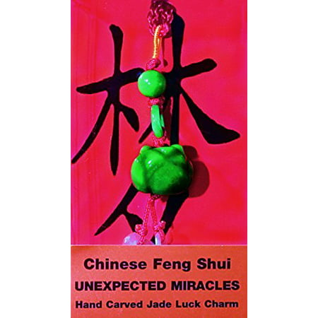 Exquisite Chinese Jade Carving (Chinese Feng Shui Hand Carved Jade Lucky Charm - Unexpected)