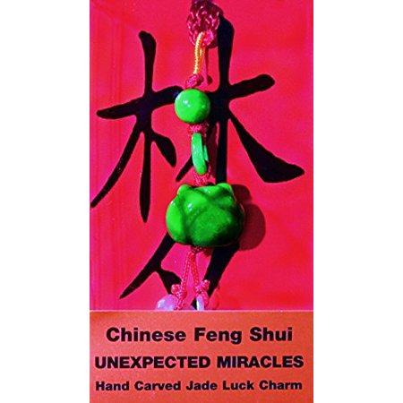 Chinese Feng Shui Hand Carved Jade Lucky Charm - Unexpected - Feng Shui Jade Charms