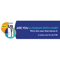 New!! Us. Razors. Brought to you by BIC. Join Us. You'll Like Us.