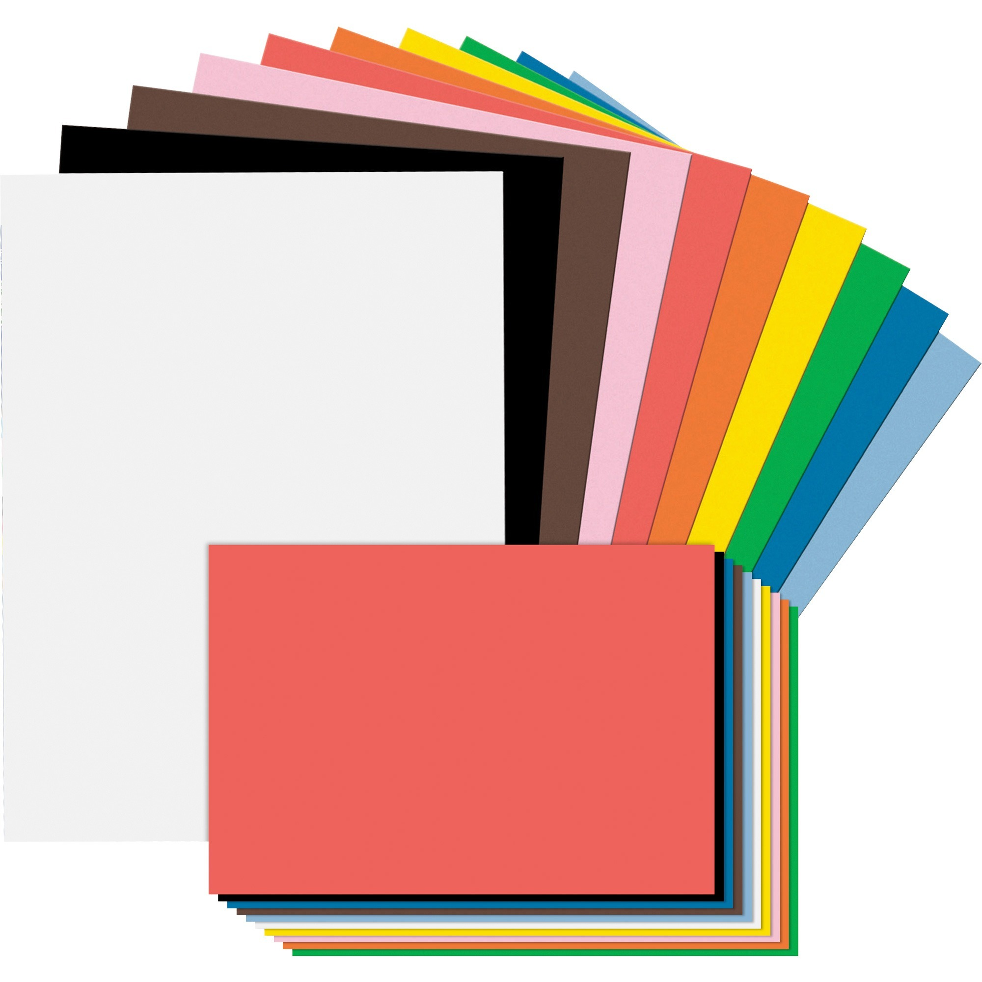 Tru-Ray, PAC104120, Construction Paper Combo Case, 1 Kit, Assorted