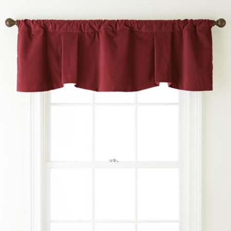 - Nanshing  Velvet 54 x 18-inch Solid Curtain Valance - 54 x 18