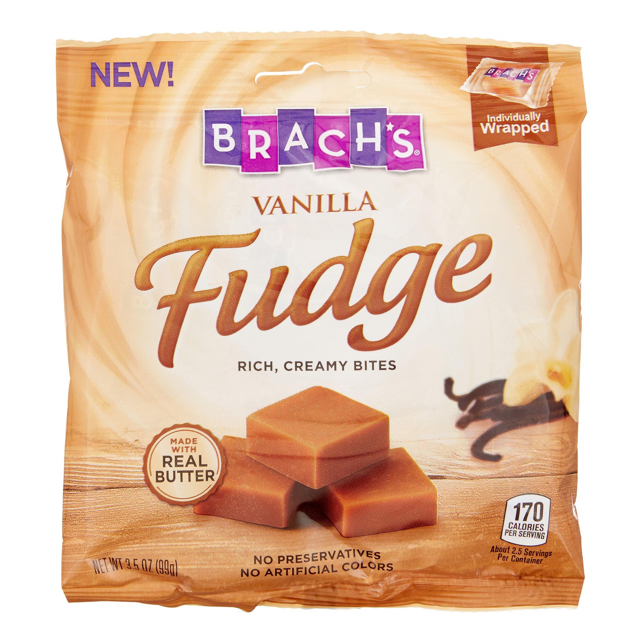 Brach's Vanilla Fudge, 3.5 Oz Bag by Ferrara Candy Company