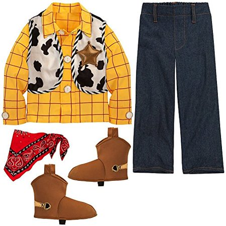 Disney Store Toy Story Sheriff Woody Halloween Costume Size XXS 3 3T](Halloween Store Clearwater)