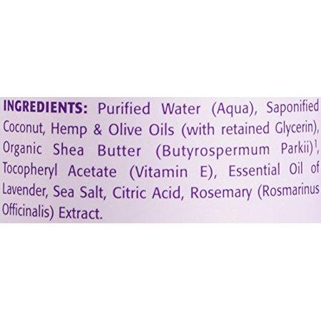 Dr. Woods Shea Vision, Lavender Castile Soap with Shea Butter, 16-Ounce (Pack of 12) - image 4 de 4