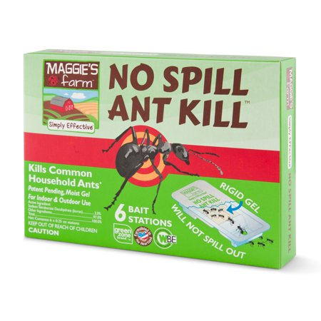 Maggie's Farm No Spill Ant Kill Bait Stations, 0.25 oz., Pack of (Best Way To Kill Ant Hills)
