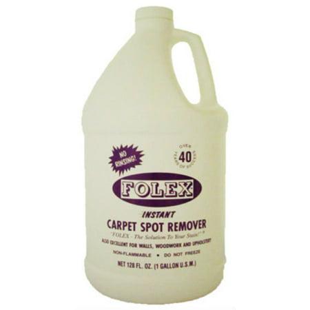 FOLEXPORT INC Instant Carpet Spot Remover, 1-Gal. -