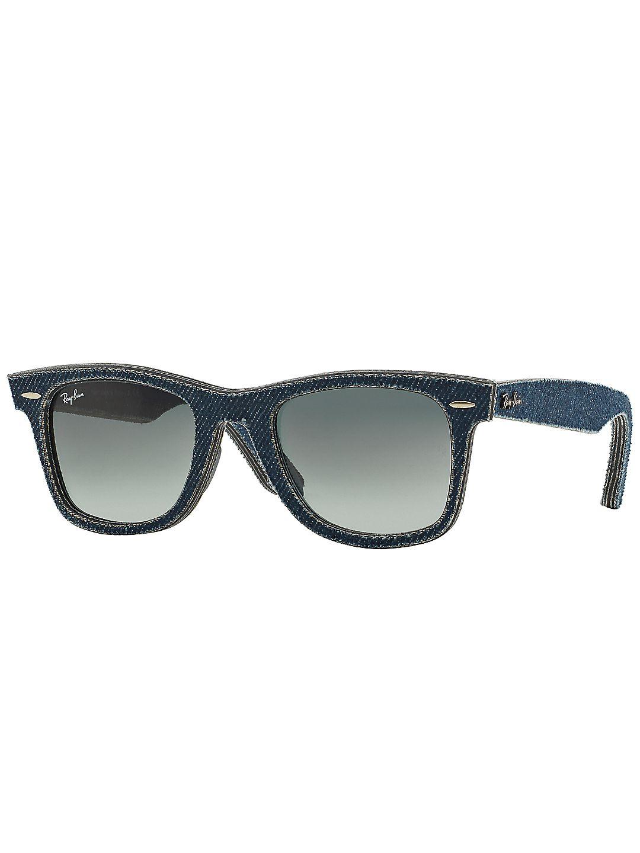 50MM Denim Wayfarer Sunglasses