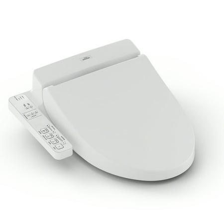 TOTO® Washlet® A100 Elongated Bidet Toilet Seat, Cotton White - SW2014#01 - Kohler Memoirs Bidet