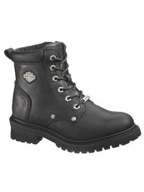 1b649e7bc68 Product Image Harley-Davidson Women s Shawnee Lace Up Black 5-Inch  Motorcycle Boots D84399