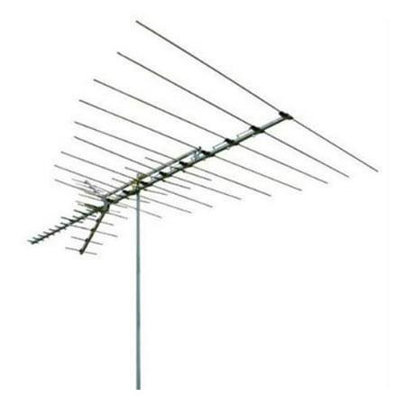 RCA Long Range Outdoor Yagi Antenna Silver