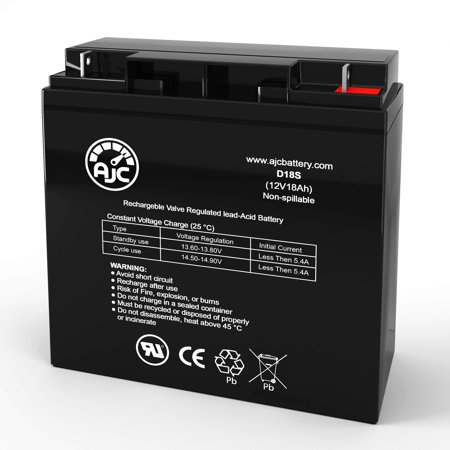 APC CP15B48 12V 18Ah UPS Battery - This is an AJC Brand Replacement - image 1 of 6