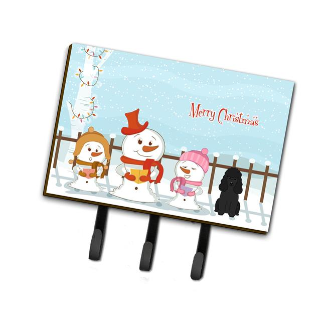 Carolines Treasures BB2400TH68 Merry Christmas Carolers Poodle Tan Leash or Key Holder - image 1 de 1