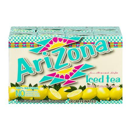 (3 Pack) AriZona Iced Tea with Lemon Flavor - 8