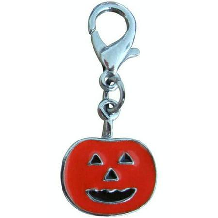 Halloween Lobster Claw Charms/Zipper Pulls Pumpkin one size - Halloween Summary