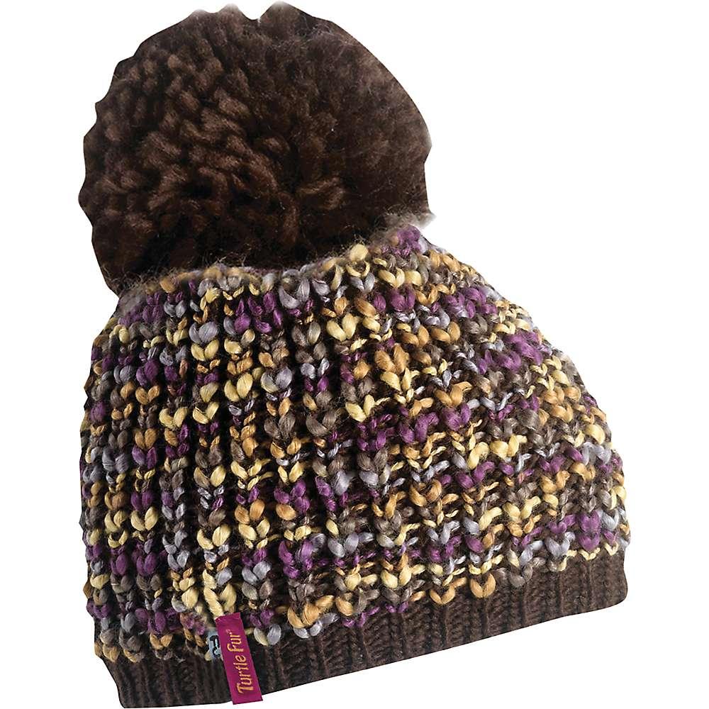 Turtle Fur Yvonne Women's Variegated Yarn Fleece Lined Pom Winter Hat by Turtle Fur