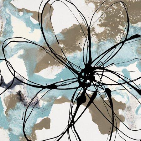 Free Flow I Art Print By Natasha Barnes - 12x12 - Free Spirit 12x12 Paper