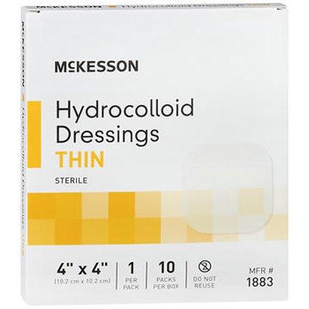 McKesson Hydrocolloid Dressing Thin 4
