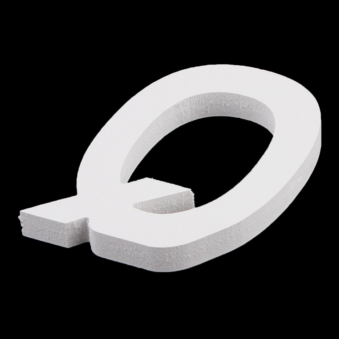Wedding Party Home Plywood Decoration English Q Letter Alphabet DIY Wall White - image 2 of 3