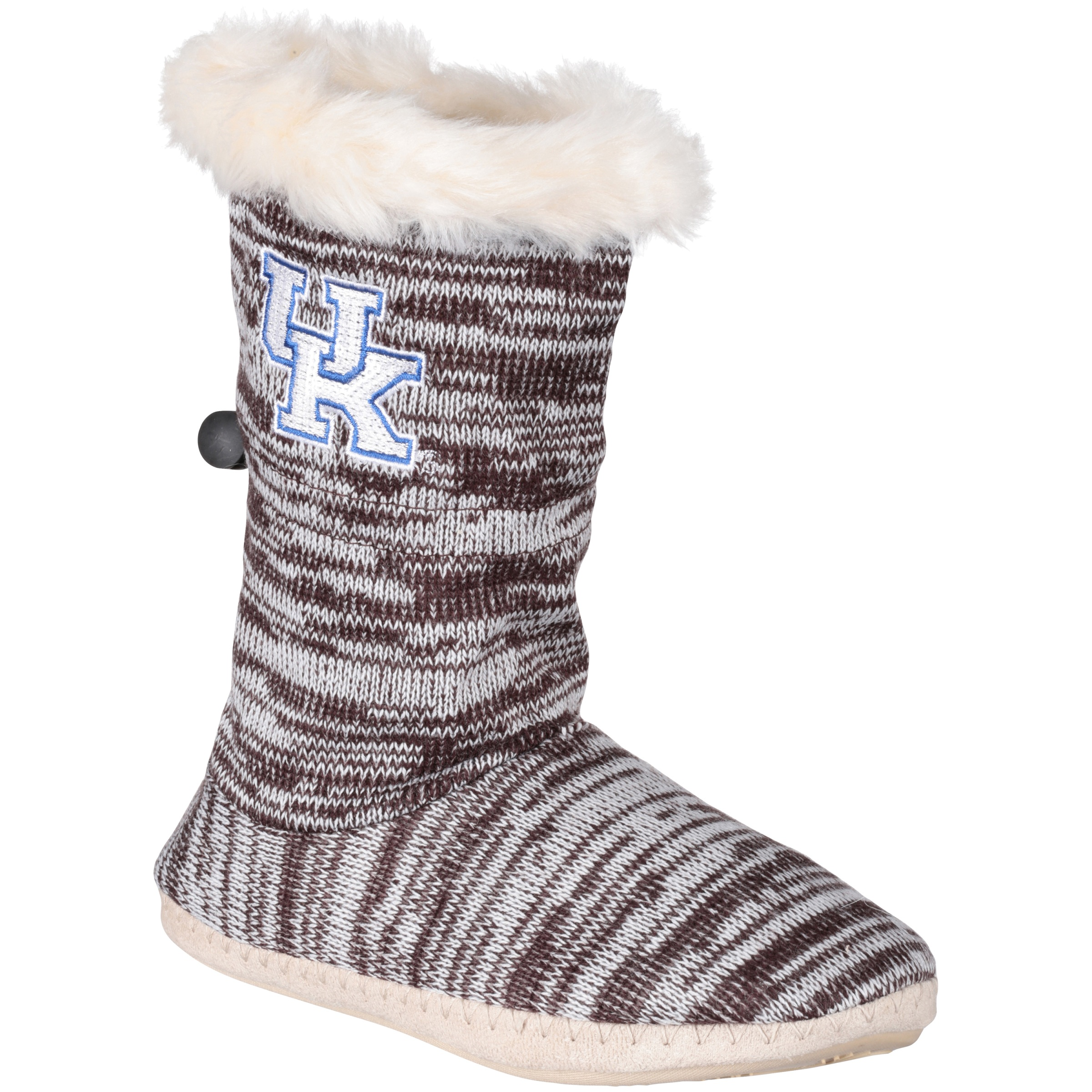 Collegiate Footwear University of Kentucky Boot Slippers 1 pr. by Renaissance Imports, Inc.