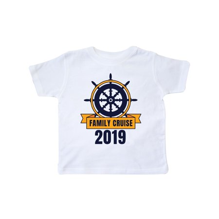 Family Cruise 2019 with Ship Wheel Toddler