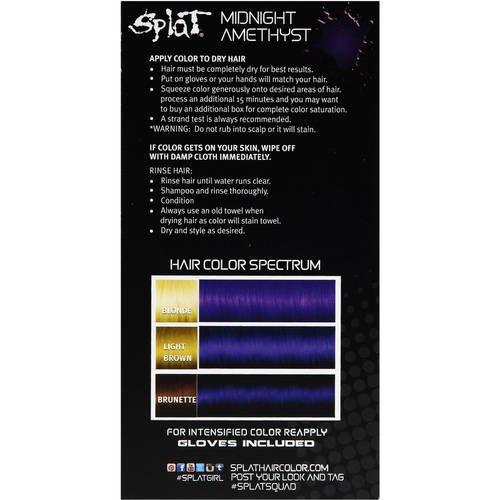 6 Box Mellor Rus Simply Bright Permanent Hair Dye Colour Purple Pion