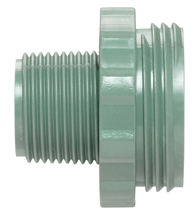 "Underground Sprinkler Transition Adapter, Pvc-to-manifold, 3/4"", Orbit, 57187"