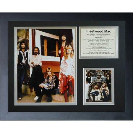 Legends Never Die Fleetwood Mac Framed Memorabilia