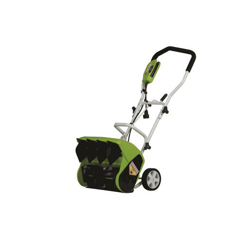 Greenworks 26022 9 Amp 16 in. Electric Snow Thrower by GREENWORKS