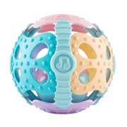 AUTCARIBLE 0-2 Years Old Babies And Infants Educational Rattle Fitness Toy Ball Soft Teether Crawling Ball