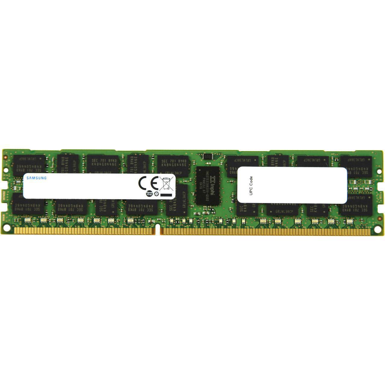 Samsung Server Memory Ddr3 16gb 240 Pin Rdimm Registered Ecc Pc3 12800r 1600 Cl11 12800 2rx4 135v Model M393b2g70eb0 Yk0