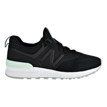 separation shoes 0f8be 60fbf New Balance 574 Sport Men's Running Shoes Black/Black/White ms574-tmb