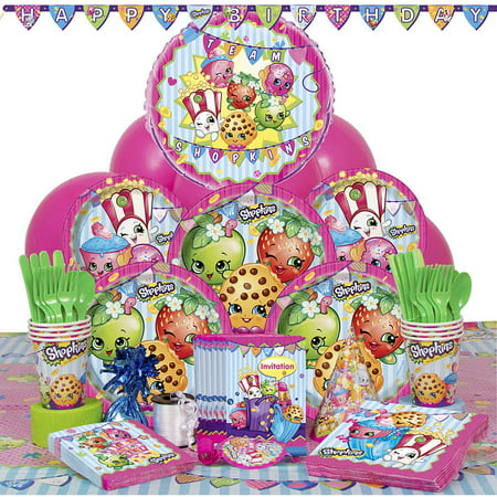 Deluxe Shopkins Party Supplies Kit for 8 - Party Supplies Maryland
