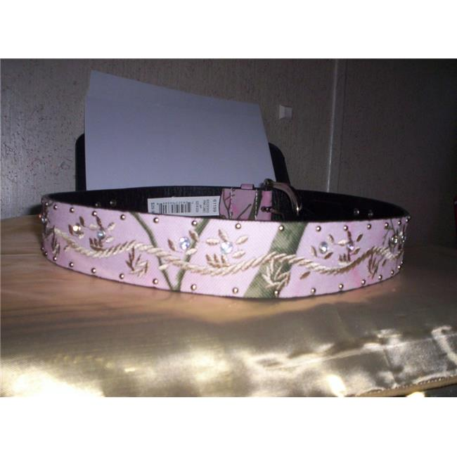 Danbury Marketing 6529300-656 Lady Casual Belt, Pink Camo...