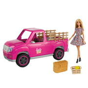 Barbie Sweet Orchard Farm Truck & Doll Set with Accessories
