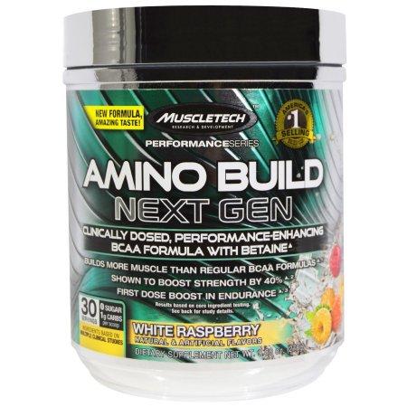 MuscleTech Amino Build Next Gen Powder, White Raspberry, 30 - Amana Built In Range