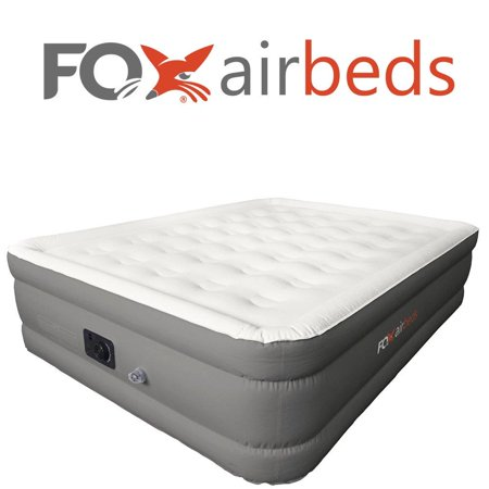 Best Inflatable Bed by Fox Airbeds - Plush High Rise Air Mattress in King, Queen, Full and Twin