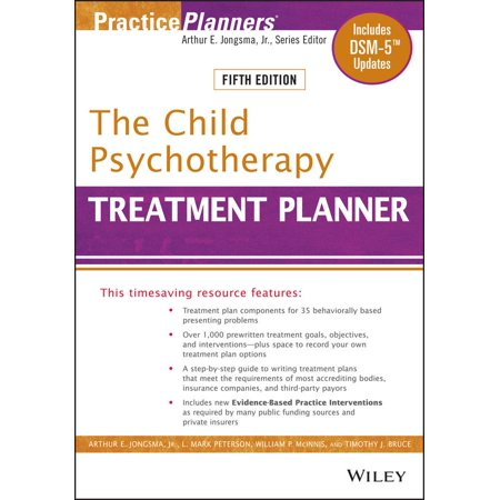 The Child Psychotherapy Treatment Planner : Includes Dsm-5 Updates ()