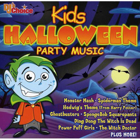 DJ'S Choice Kids Halloween Party Music - Halloween Music Printables