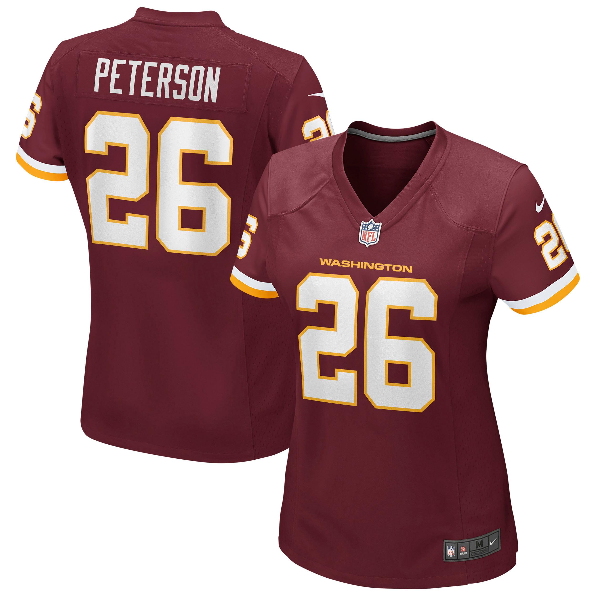 Adrian Peterson Washington Football Team Nike Women's Game Player Jersey -Burgundy - Walmart.com