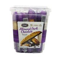 Nonni's Almond Dark Chocolate Biscotti 25 Counts Individually Wrapped 2 lb 1.25 oz