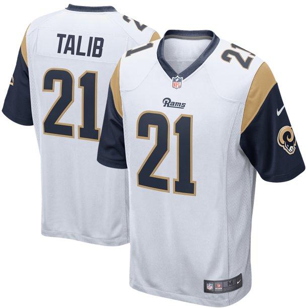 Aqib Talib Los Angeles Rams Nike Game Jersey - White - Walmart.com ...