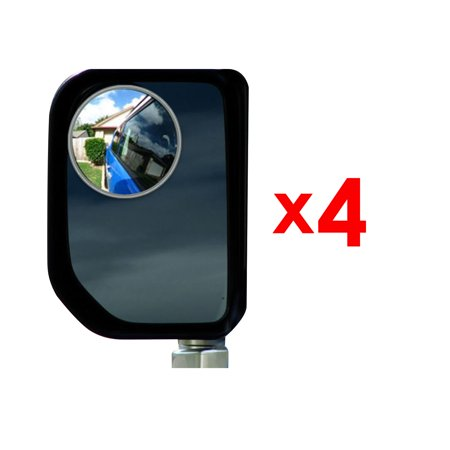 Best Blind Spot Mirror - 4 Pack 2 3/4