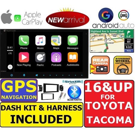 FOR 2016 & UP TACOMA GPS NAVIGATION SYSTEM BLUETOOTH APPLE CARPLAY ANDROID AUTO ()
