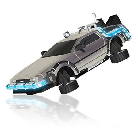 Hallmark 2014 Flying Time Machine Back to the Future Part II Ornament