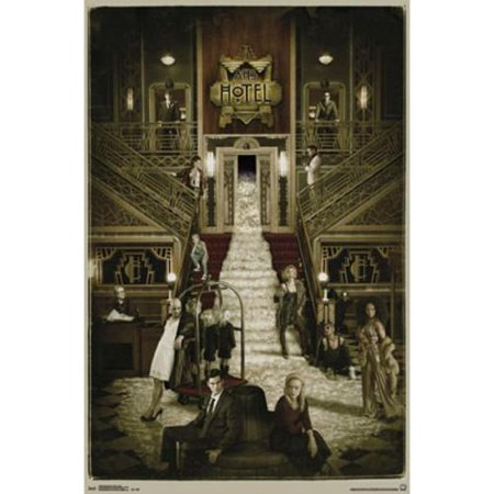 american horror story hotel poster print 22 x 34