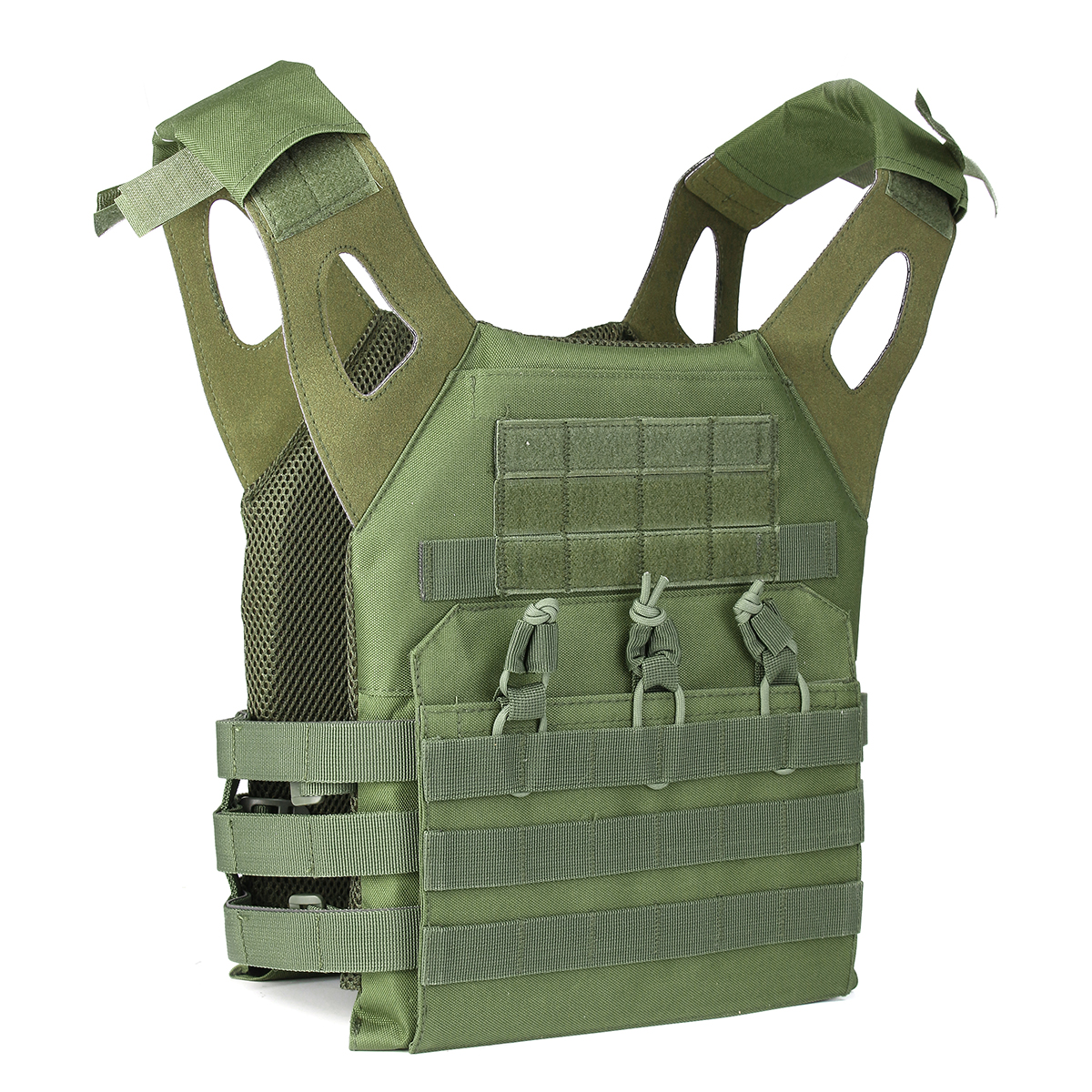 Lightweight MOLLE System Army Armor Carrier Plate Vest Pouches 1000D Waterproof Oxford Cloth
