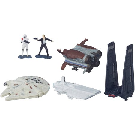 Star Wars: The Force Awakens Micro Machines Deluxe Vehicle Pack Space (List Of All Star Wars Micro Machines)
